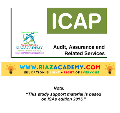 CFAP-06 Audit, Assurance and Related Services 2016 - Study Text
