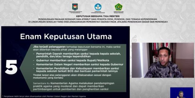 Wajib Diketahui, Enam Aturan SKB 3 Menteri Tentang Penggunaan Pakaian Seragam dan Atribut Sekolah