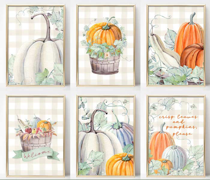 Farmhouse Printables for Fall