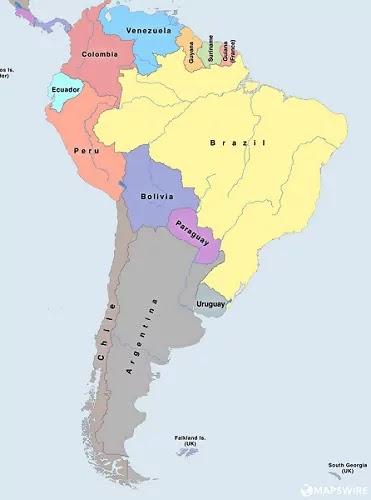 Negara-negara Kawasan Amerika Selatan Latin Bentuk Negara dan Sistem Pemerintahan Mereka