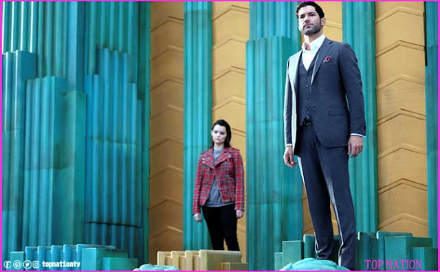 Lucifer talks with Rory