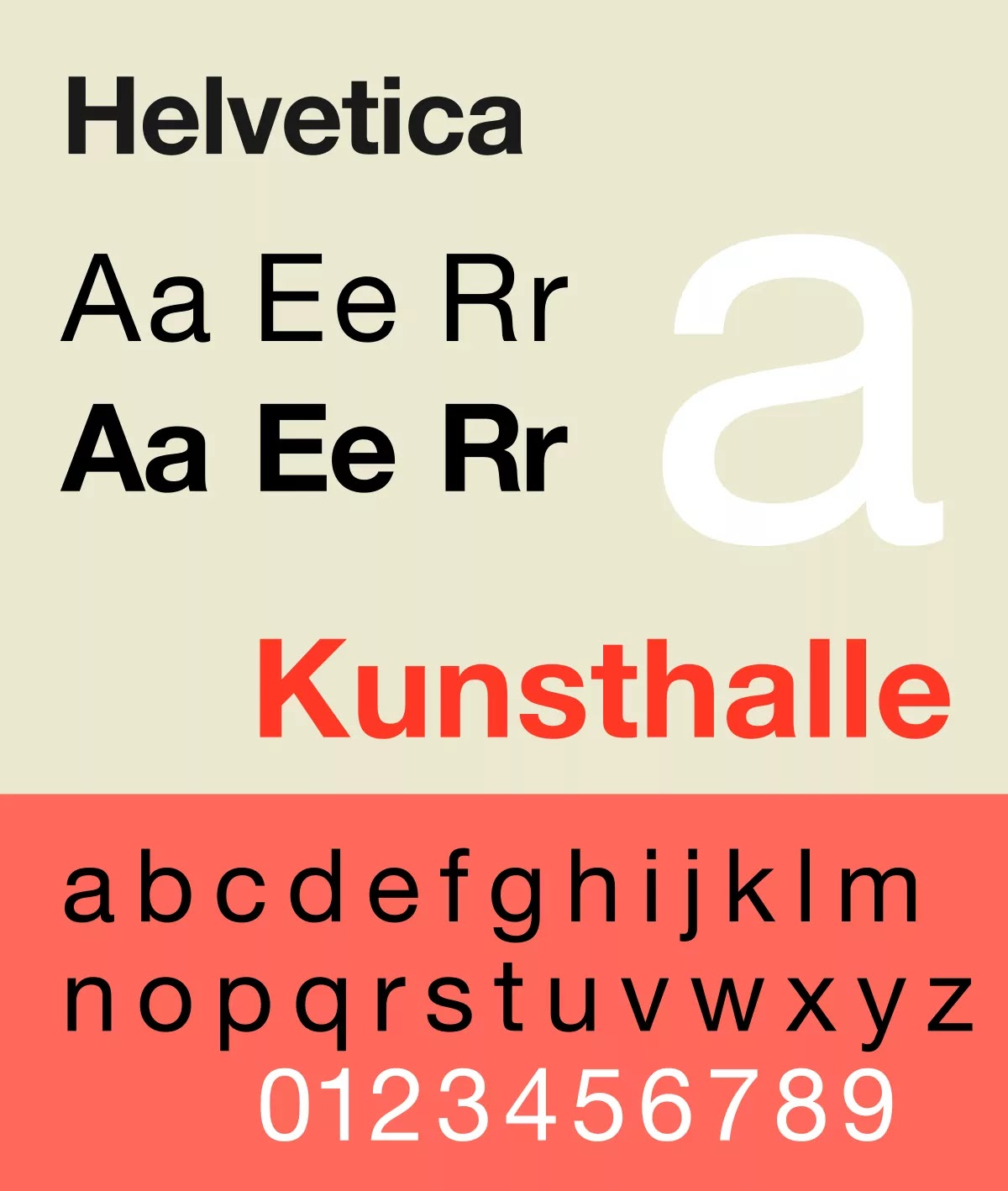 Helventica Font