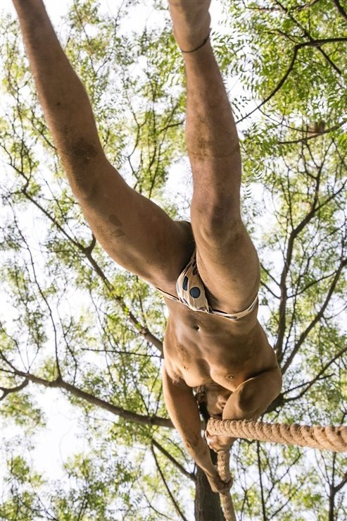 The Rope Climbing Langot Pehalwans Of Delhi-9830
