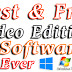 Free video editing software | Free video editor | Video editing software