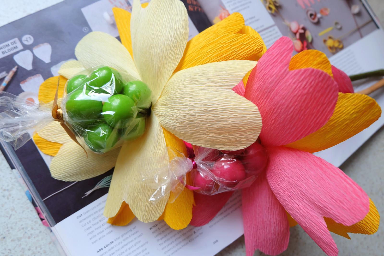Candy Center Paper Flower