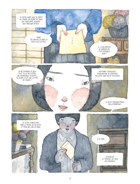 """page de""""LE SONGE DU CORBEAU"""" de Atelier Sento et Alberto M.C. chez Delcourt."""