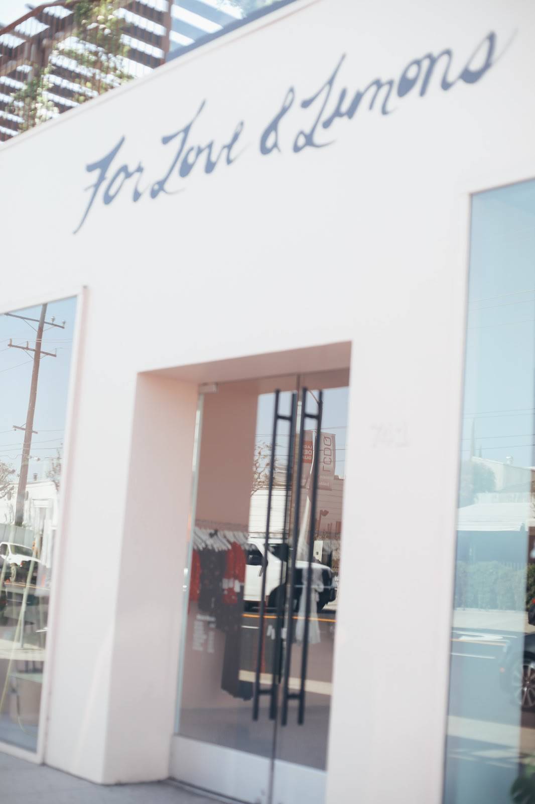 love and lemons Los Angeles pop up