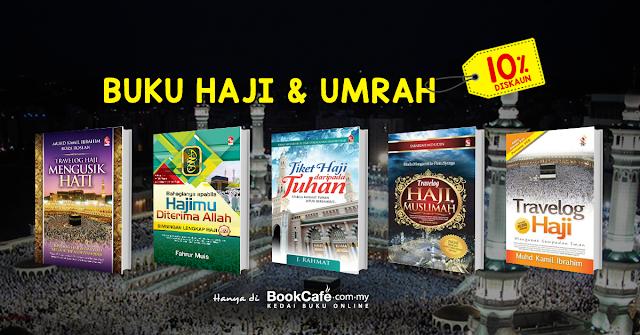 Buku Haji Dan Umrah Diskaun Sehingga 10% Di Bookcafe