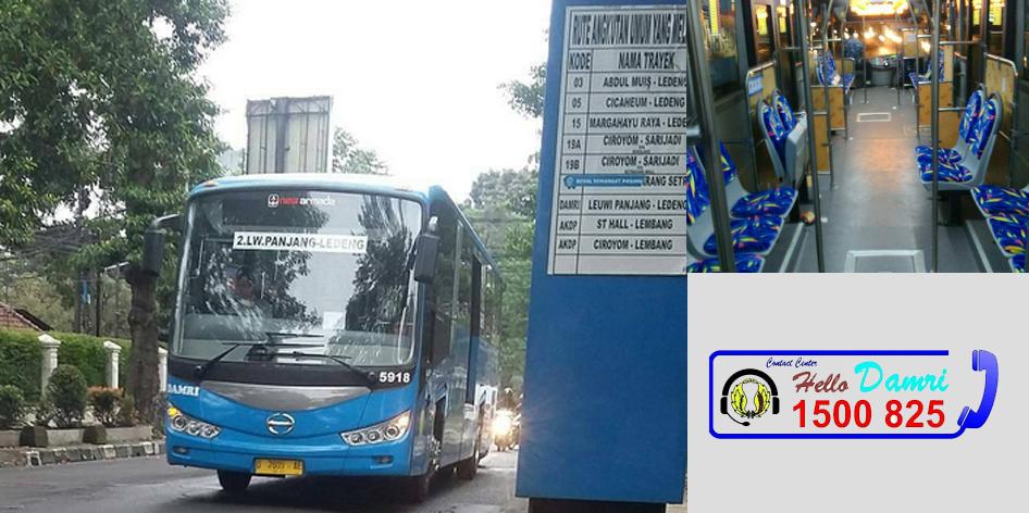 Layanan bus DAMRI terbaru di Bandung
