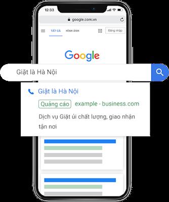 Dịch vụ chạy quảng cáo google tìm kiếm