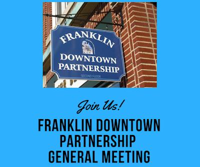 Franklin Downtown Partnership - General Meeting - Nov 7