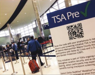 Sail through airport security, 'Trusted travelers' can avoid long check-in lines