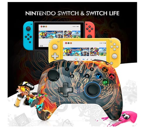 REDSTORM Wireless Pro Controller for Nintendo Switch