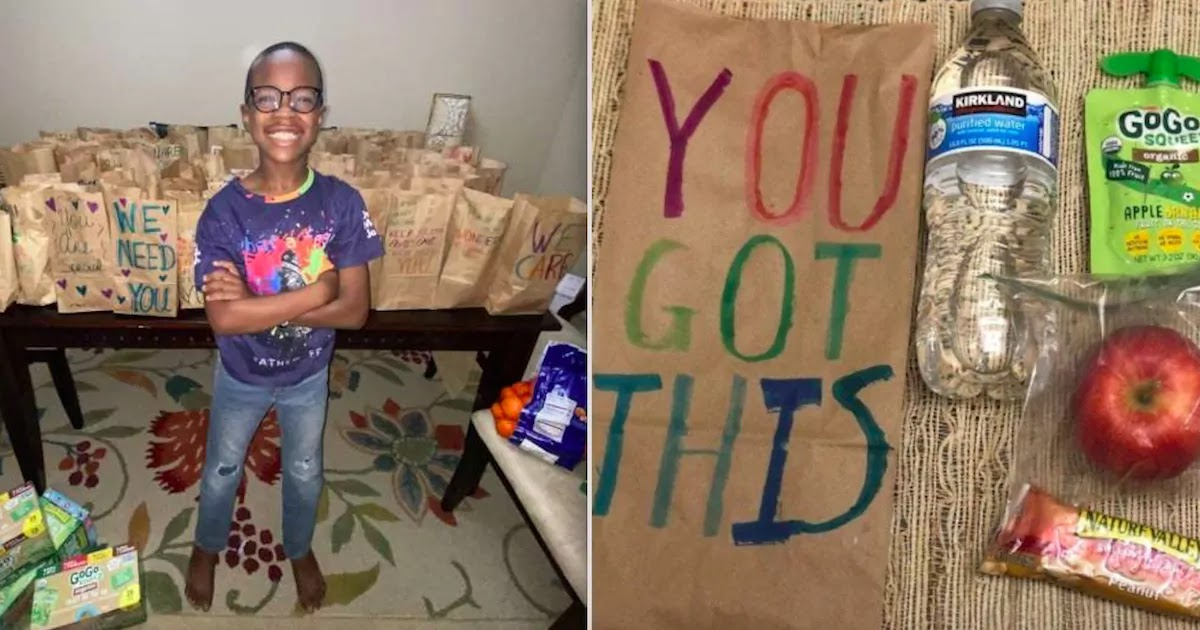 5th Grader On A Mission To Deliver 100,000 Meals To People In Need Across Texas Before Thanksgiving