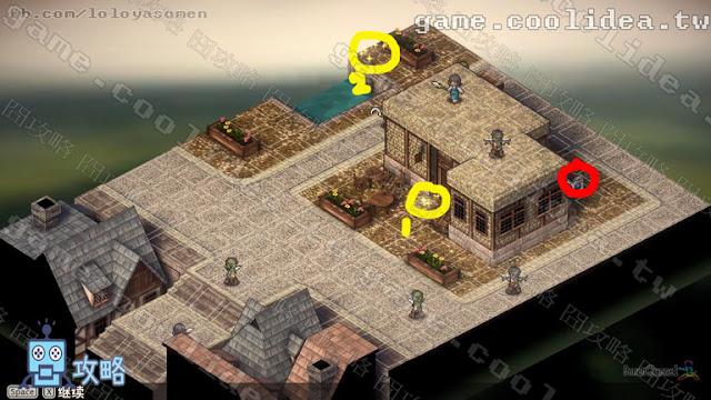 Mercenaries Blaze 傭兵烈焰 黎明雙龍 第06章 糾結 / 葛藤 戰場地圖