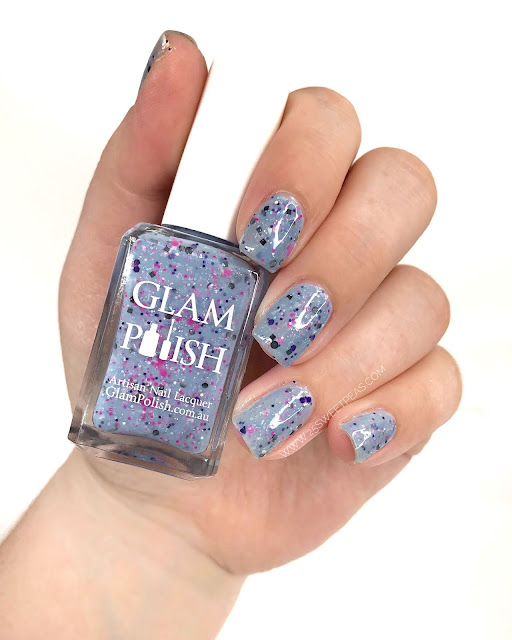 Glam Polish Under the Boardwalk 25 Sweetpeas