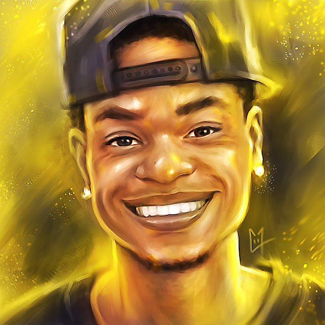 King Bach Digital Painting Portrait