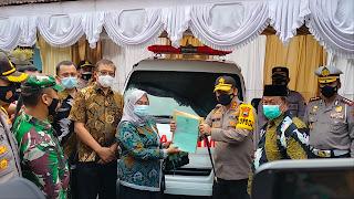 Video Kapolda Jateng Tinjau Posko PPKM Mikro Desa Bandungrejo Kabupaten Jepara