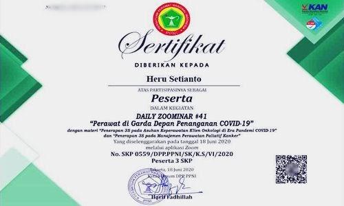 Cara Mendapat SKP PPNI, IBI, IDI dan IAKMI Gratis Via Online Terbaru - www.herusetianto.com