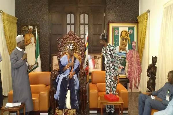 Oba Babatunde Aremu is the traditional ruler of Lagos