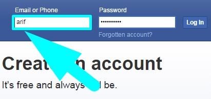 facebook.com login facebook