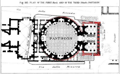 Imagem  R. Lanciani Domínio público Wikimedia - Matéria Pantheon - BLOG LUGARES DE MEMÓRIA