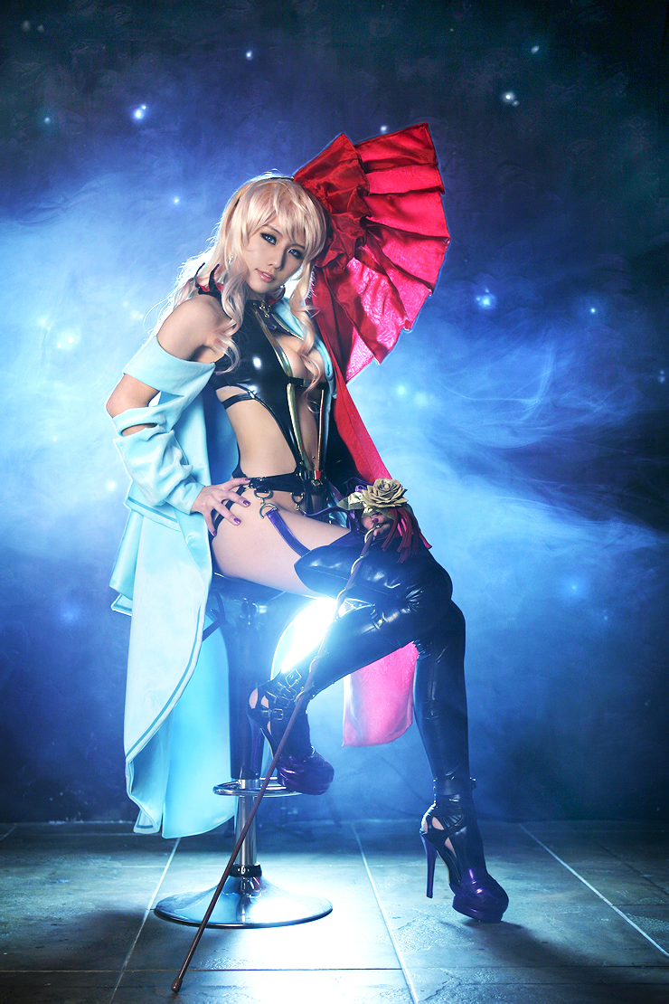Anime Macross Frontier Sexy Sheryl Nome Cosplay by Tasha ...