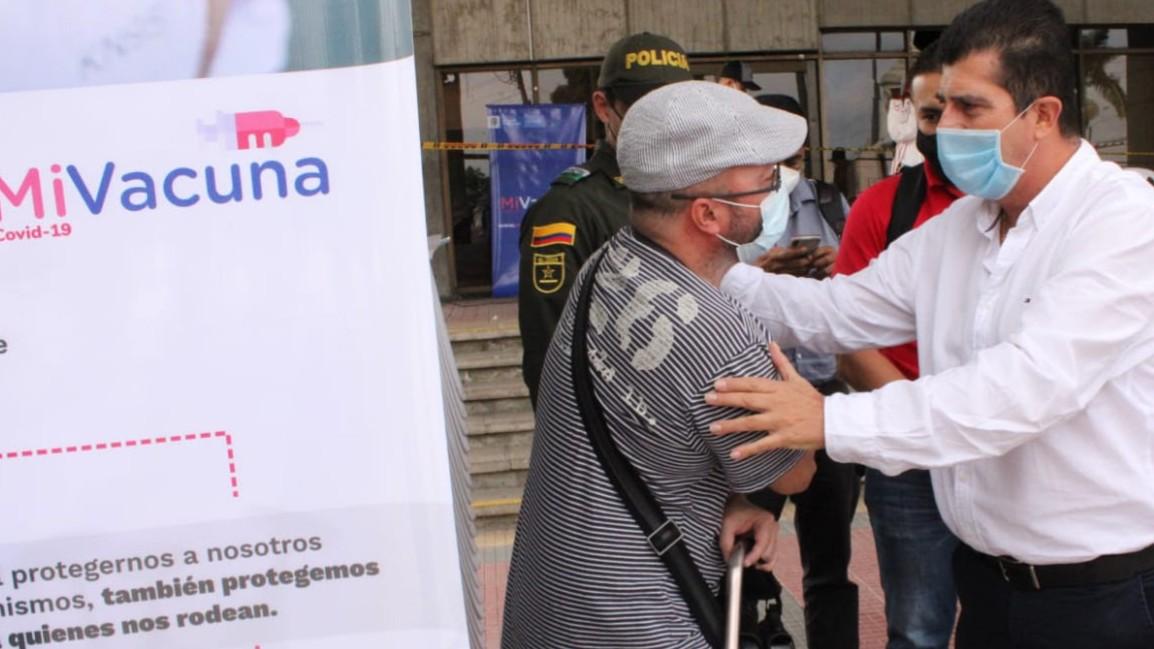 Gobernador de Risaralda dio a conocer los otros seis municipios priorizados para  alcanzar la inmunidad de rebaño