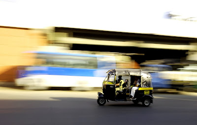 Public transport in India - Rickshaw