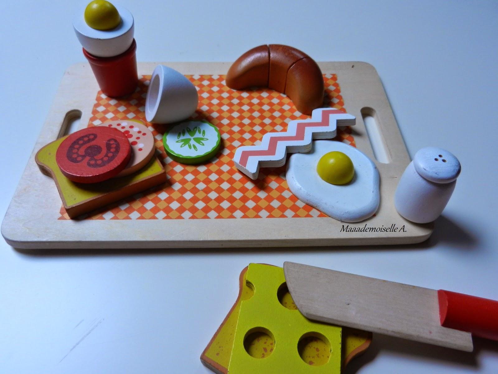 """Play Tive Junior : jeu en bois aliments """"Petits déjeuner"""" (Présentation & Avis)"""