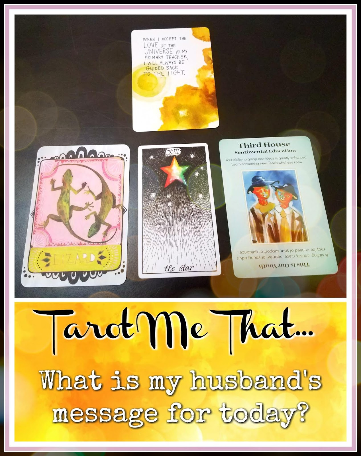 Daily Message: September 17, 2018 - TAROT ME THAT