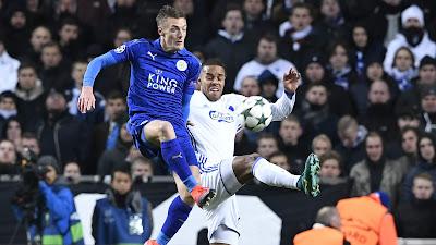 Jamie Vardy Against Copenhagen