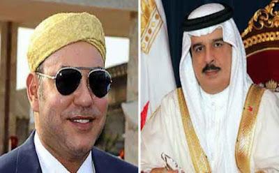 بعد وصول  ابن زايد... ملك البحرين يحل بالمغرب (صورة)