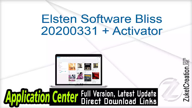 Elsten Software Bliss 20200331 + Activator