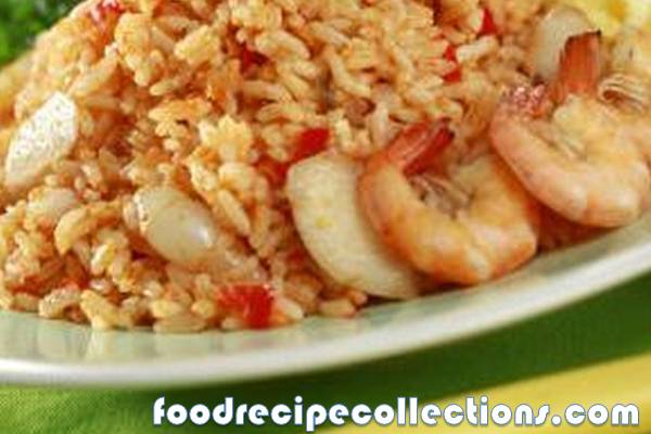 Fried Rice With Chili Shrimp Paste Recipe