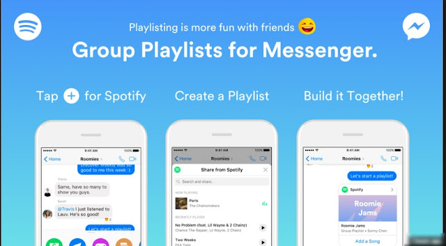 How You Can Create Spotify's New Group Playlists With Your Facebook Messenger