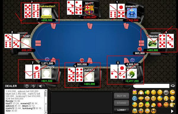 situs domino99 dan poker