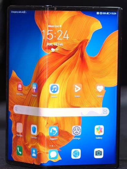 Spesifikasi Huawei Mate Xs Layar 8.0 inci | 8GB/512GB