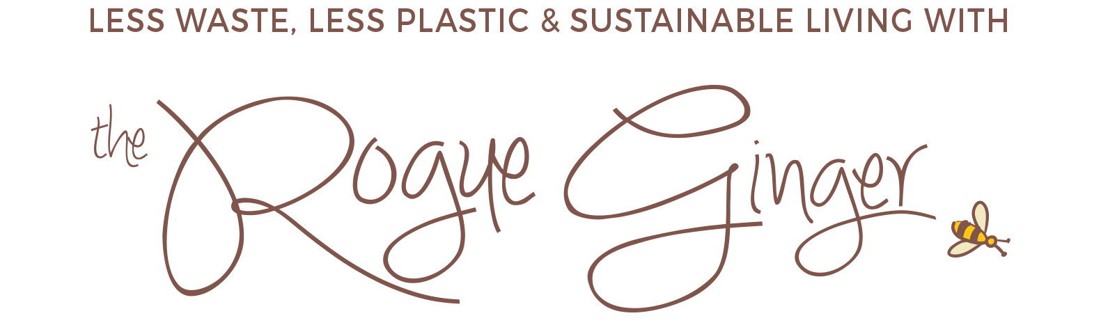 The Rogue Ginger | Zero-Waste, Plastic-Free, Sustainable Living Blog by Erin Rhoads
