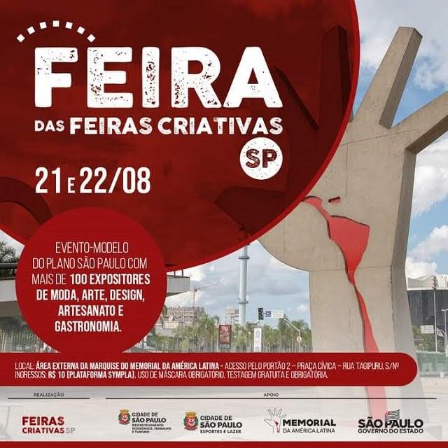 Região Turística do Lagamar participa sábado 21/08 e domingo 22/08 da primeira Feira das Feiras de Economia Criativa, em SP