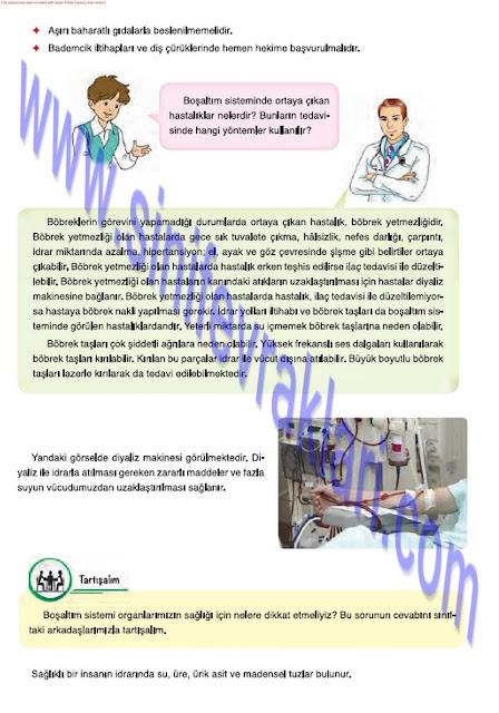 7. Sınıf Fen Bilimleri Ders Kitabı Cevapları Mevsim Yayınları Sayfa 27