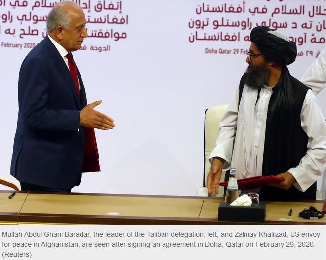 perundingan damai taliban dan afganistan