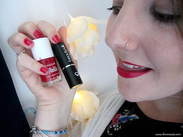 Beauty UK Cosmetics lipstick and nail polish review