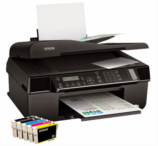 page jobs amongst the automatic document feeder Epson Stylus Office BX320FW Driver Downloads