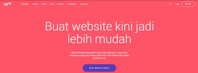 Membuat Website Toko Online dengan Zyro