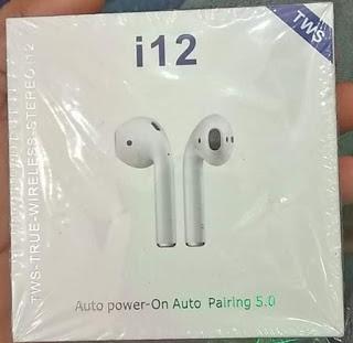 i12 TWS Wireless Earphone
