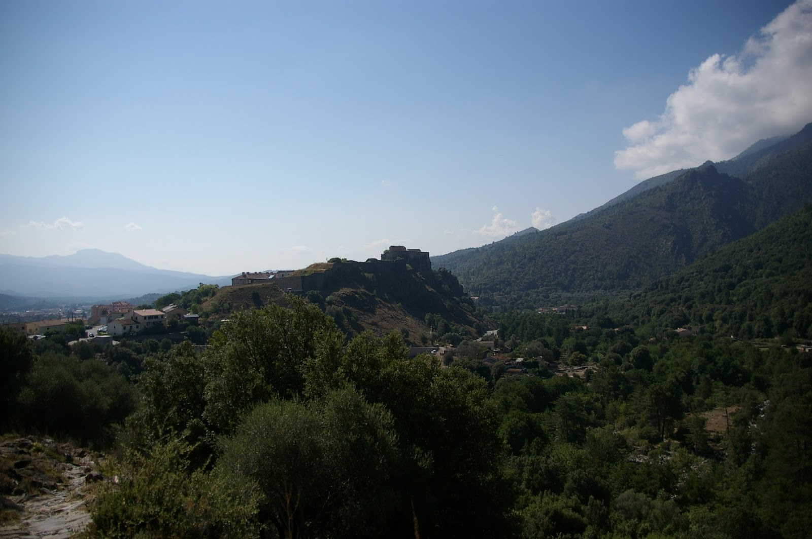 Korsyka Corte góry