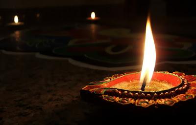 Happy Diwali Diya Wallpaper