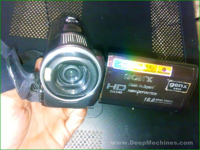 Tinjauan HandyCam - DVC HD SONY GEN X G800