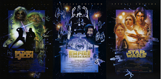 Special Edition posters of the Original Trilogy by Struzan